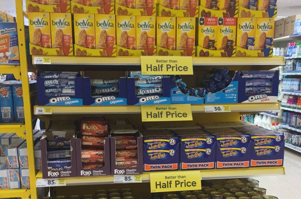 discount madness jaffa cakes