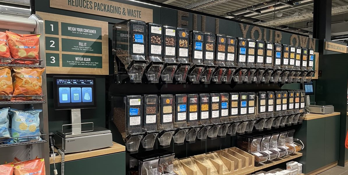 retail sustainability no packaging